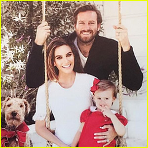 Armie Hammer's 2016 Christmas Card is Too Adorable!