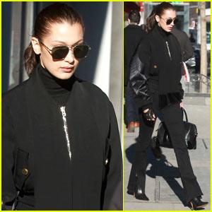 Bella Hadid Turns the NYC Sidewalk into Her Catwalk