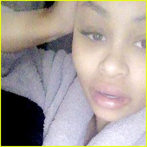 Blac Chyna's Instagram Hacked, Rob Kardashian Split Rumors Are Posted