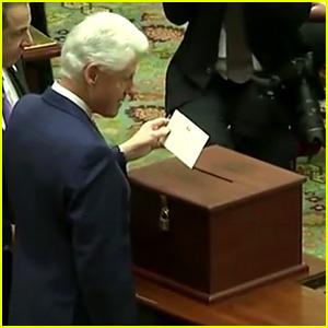 VIDEO: Bill Clinton Casts Electoral Vote for Hillary Clinton