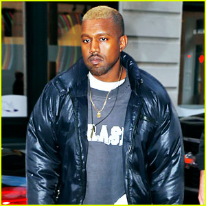 Blond Kanye West Steps Out in NYC After Hospitalization