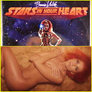 Bonnie McKee Goes Naked In Barbarella-Inspired 'Stars In Your Heart' Music Video - Watch Here!