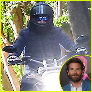 Bradley Cooper Rides Motorcycle Amid Engagement Rumors