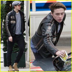 Brooklyn Beckham Is Having Parking Ticket Problems