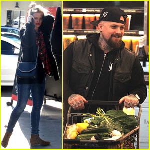 Cameron Diaz & Benji Madden Do Some Post-Holiday Shopping