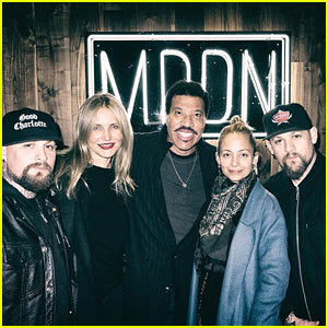 Cameron Diaz & Nicole Richie Pose with Their Husbands in 'Family' Pic!