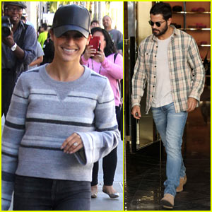 Cara Santana & Jesse Metcalfe Spend the Afternoon Shopping on Rodeo Drive