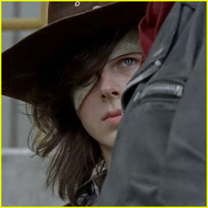 VIDEO: Carl Faces Off Against Negan on 'The Walking Dead'