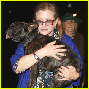 Carrie Fisher's Dog Gary Posts on Instagram: 'I Miss Her'