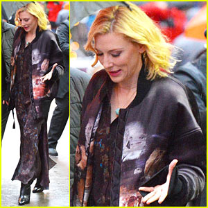 VIDEO: Cate Blanchett Promotes Broadway Debut 'The Present' on 'GMA'