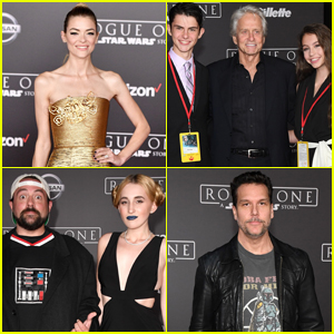 Celebs React to 'Rogue One' After Watching World Premiere!