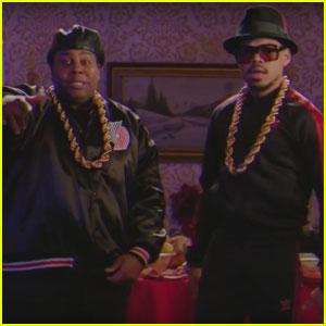 VIDEO: Chance the Rapper Raps 'Jingle Barack' on 'SNL'