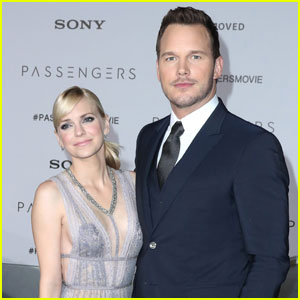 Chris Pratt Couples Up With Anna Faris For 'Passengers'