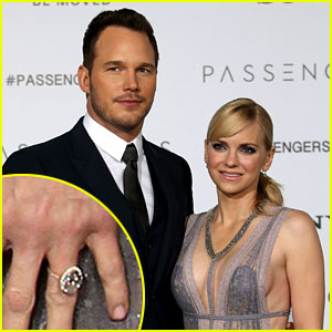 Chris Pratt Got Anna Faris a Wedding Ring Upgrade!