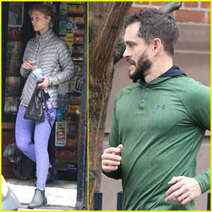 Claire Danes & Hugh Dancy Work Up a Sweat in NYC
