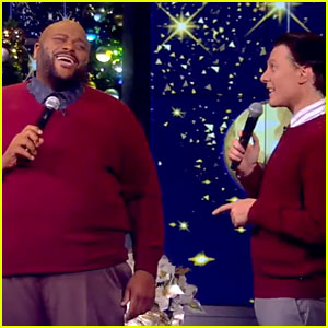 VIDEO: Clay Aiken & Ruben Studdard Reunite for First TV Performance Together in 13 Years!