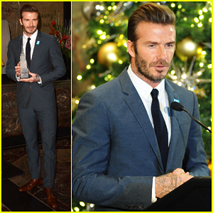 David Beckham Reveals That Son Cruz Dropping Christmas Song For Charity Was His Idea!
