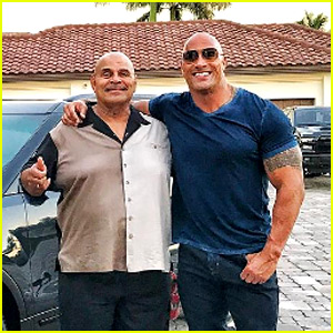 Dwayne Johnson Buys His Dad A Car For Christmas Shares