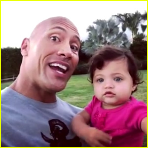 VIDEO: Dwayne Johnson Sings 'Happy Birthday' to Daughter Jasmine on First Birthday!