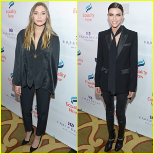 Elizabeth Olsen & Ruby Rose Have Inspirational Night At Equality Now's Make Equality Reality Gala 2016!