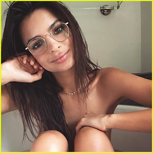 Emily Ratajkowski Strips Down in The Bathtub to Celebrate 10 Million Followers!