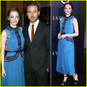 Emma Stone & Ryan Gosling Are Picture Perfect at the 'La La Land' Premiere