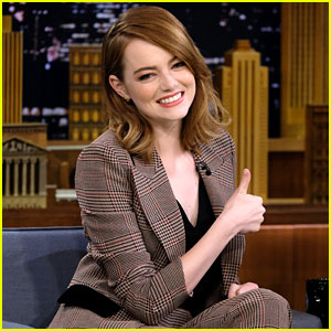 VIDEO: Emma Stone Plays the Singing Whisper Challenge with Jimmy ...  Emma Stone