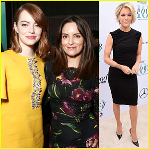 Tina Fey & Megyn Kelly Honored at THR's Women in Entertainment Breakfast