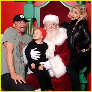 Fergie & Josh Duhamel Took the Cutest Santa Picture Ever!