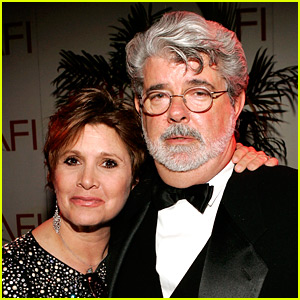 'Star Wars' Director George Lucas Pays Tribute to Carrie Fisher