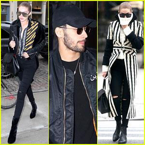 Gigi Hadid & Boyfriend Zayn Malik Step Out Separately in NYC
