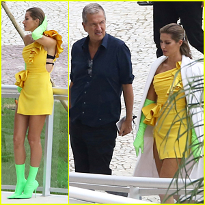 Gisele Bundchen Hits Rio With Mario Testino For Colorful New Photoshoot!