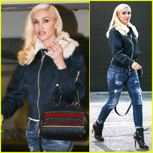 Gwen Stefani Spends Her Afternoon Shopping with Friends