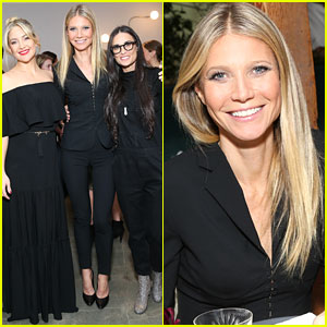 VIDEO: Gwyneth Paltrow Totally Fails at Giving a Spray Tan