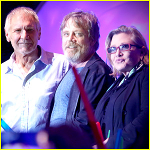 Harrison Ford & 'Star Wars' Actors Send Love to Carrie Fisher