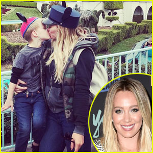 Hilary Duff Fires Back at Haters Over Kissing Son on Lips