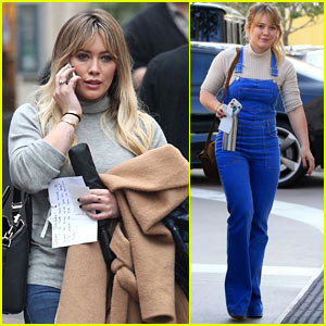 Hilary Duff Steps Out After 'Younger' Season Finale Airs!