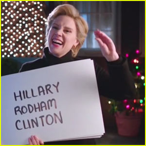VIDEO: Hillary Clinton Spoofs 'Love Actually' on 'SNL'!