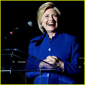 VIDEO: Hillary Clinton Calls Out 'Fake News' At Harry Reid Portrait Unveiling!