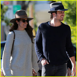 Ian Somerhalder & Nikki Reed Look Picture Perfect in New Photos!