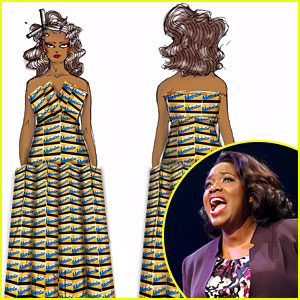 This MetroCard Dress is a Broadway Costume You Need to See!