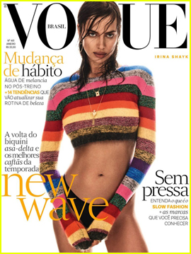 Irina Shayk Stuns on the Cover of 'Vogue Brasil'