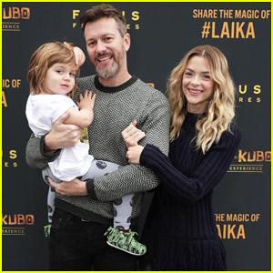 Jaime King Makes It A Family Affair At Magical LAIKA Experience!