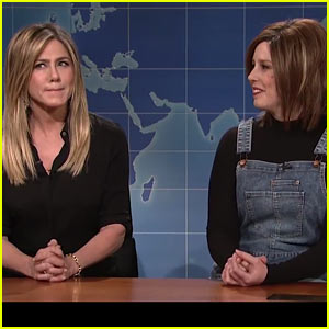 VIDEO: Jennifer Aniston Makes 'SNL' Cameo, Calls Out Vanessa Bayer's Rachel from 'Friends'!