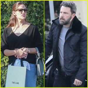 Jennifer Garner & Ben Affleck Step Out Separately to Run Errands
