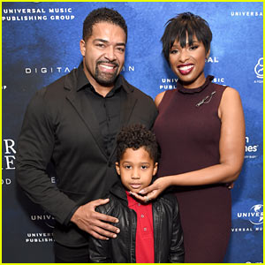 Jennifer Hudson is Joined by Fiance David Otunga & Son David Jr at March of Dimes Event