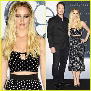 VIDEO: Jennifer Lawrence & Chris Pratt Go On First Date In New 'Passengers' Clip!