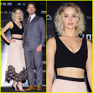 Jennifer Lawrence & Chris Pratt 'Had To Be Shushed' A Lot On Set Of 'Passengers'!
