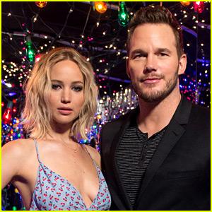 Jennifer Lawrence & Chris Pratt Walk Away from Interview After Awkward Question