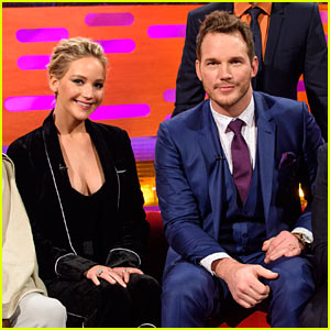 VIDEO: Chris Pratt Continues Pranking Jennifer Lawrence in London!